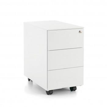 Steelbox - Cajonera de oficina steelbox mini estructura blanca - Imagen 1