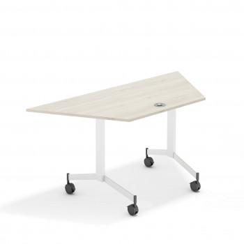Mesa plegable flip trapezoidal