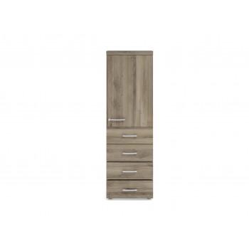 Armario TT - Armario de oficina TT, medida 159x50, 4 cajones+puerta 765 - Imagen 2