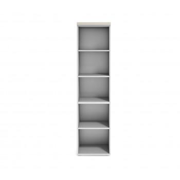 Armario TT - Armario de oficina TT, medida 198x50, estantes - Imagen 2