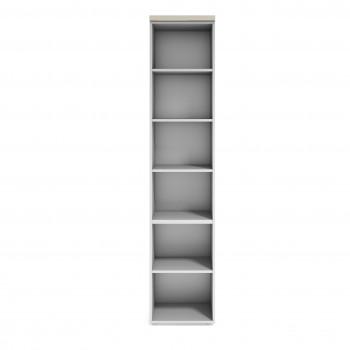 Armario TT - Armario de oficina TT, medida 236x50, estantes - Imagen 2