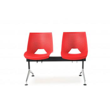 Bancada ares - Bancada sala de espera ares 2 asientos - Imagen 2