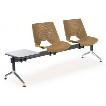 Bancada ares - Bancada sala de espera ares 2 asientos+mesa - Imagen 1