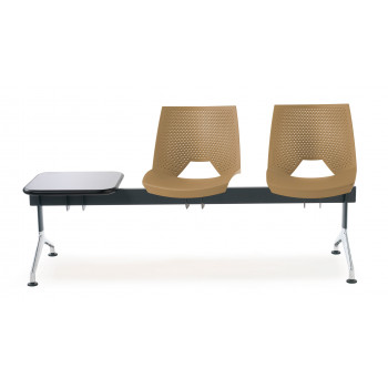 Bancada ares - Bancada sala de espera ares 2 asientos+mesa - Imagen 2