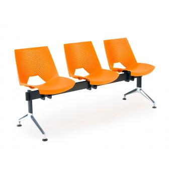 Bancada ares - Bancada sala de espera ares 3 asientos - Imagen 1