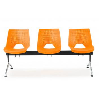 Bancada ares - Bancada sala de espera ares 3 asientos - Imagen 2