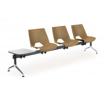 Bancada ares 3 asientos+mesa