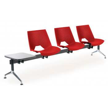Bancada ares - Bancada sala de espera ares 3 asientos+mesa - Imagen 1