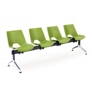 Bancada ares - Bancada sala de espera ares 4 asientos - Imagen 1