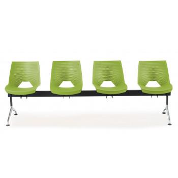 Bancada ares - Bancada sala de espera ares 4 asientos - Imagen 2