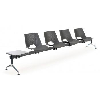 Bancada ares - Bancada sala de espera ares 4 asientos+mesa - Imagen 1
