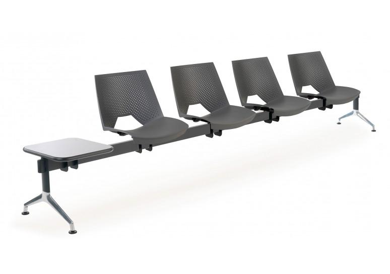Bancada ares 4 asientos+mesa