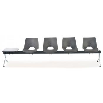 Bancada ares - Bancada sala de espera ares 4 asientos+mesa - Imagen 2