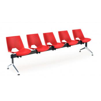 Bancada ares - Bancada sala de espera ares 5 asientos - Imagen 1