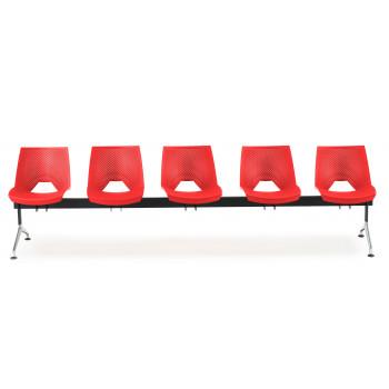 Bancada ares - Bancada sala de espera ares 5 asientos - Imagen 2