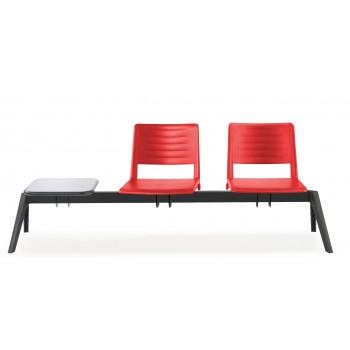 Bancada replay - Bancada sala de espera replay 2 asientos+mesa - Imagen 2