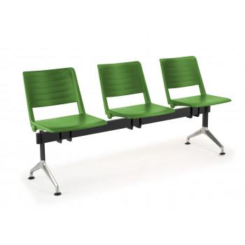 Bancada replay - Bancada sala de espera replay 3 asientos - Imagen 1