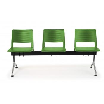 Bancada replay - Bancada sala de espera replay 3 asientos - Imagen 2