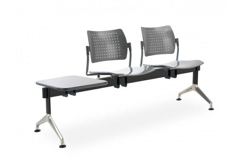 Bancada strike 2 asientos+mesa