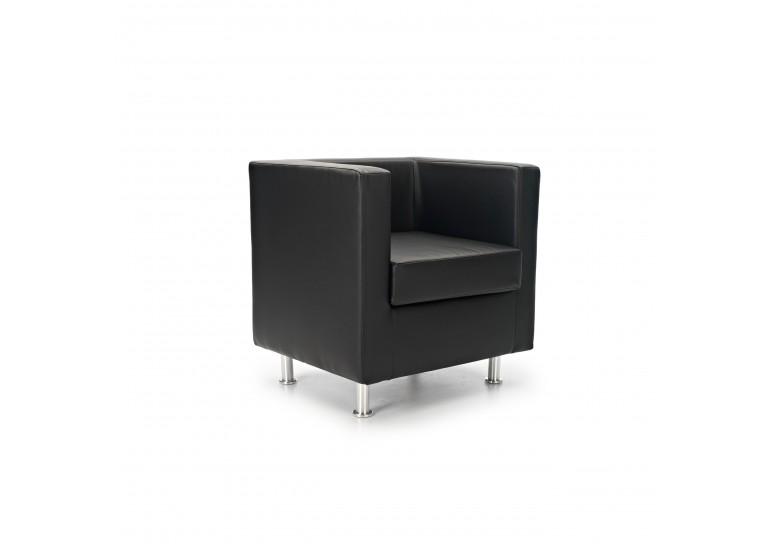 Sofa viena 1 plaza negro