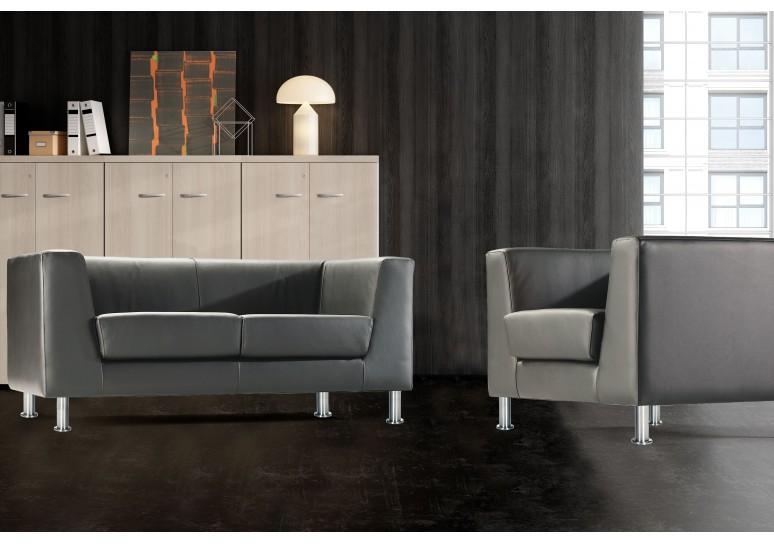 Sofa de recepción zurich 1 plaza
