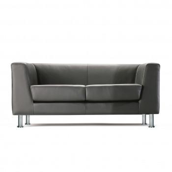 Sofa de recepción zurich 2 plazas - Imagen 1