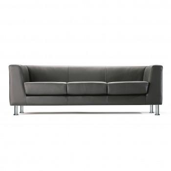 Zurich - Sofa de recepción zurich 3 plazas - Imagen 1