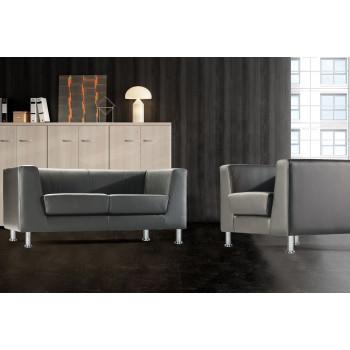 Zurich - Sofa de recepción zurich 3 plazas - Imagen 2