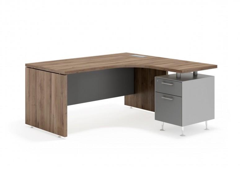 System mesa ergonomica cajon/archivo aluminio