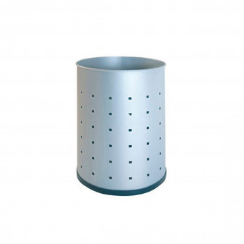 Papelera - Papelera metalica perforada - Imagen 1