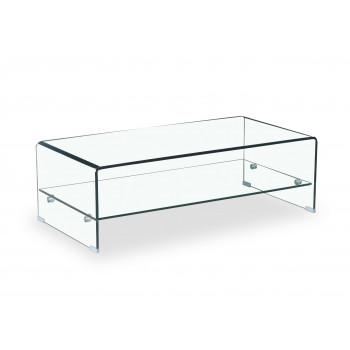 Glass - Mesa de centro con estante - Imagen 1