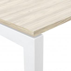 Kubika mesa de trabajo blanco