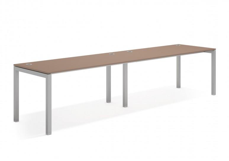 Kubika mesa progresiva doble aluminio