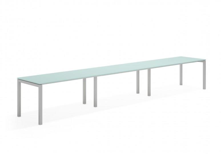 Kubika mesa progresiva triple aluminio