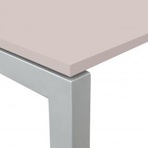 Kubika mesa auxiliar aluminio