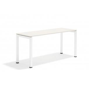 Kubika mesa auxiliar blanco