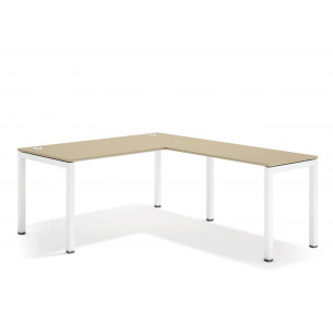 kubika mesa con ala blanco