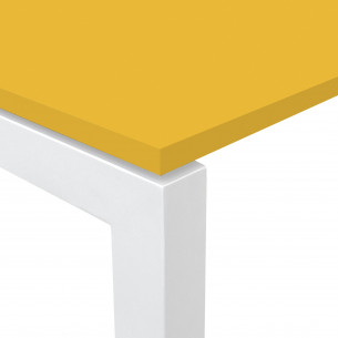 Kubika mesa bench 126 blanco