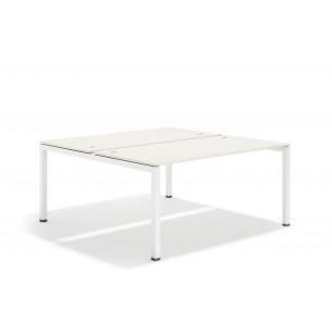 Kubika mesa bench 166 blanco