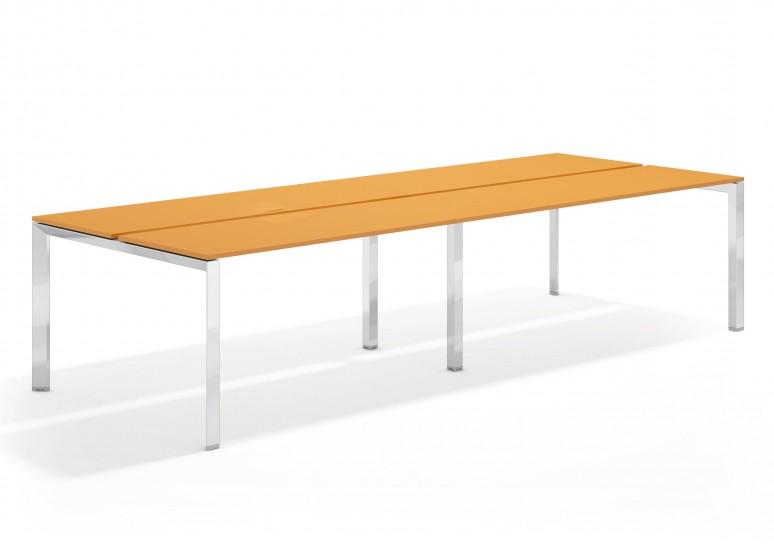 Link mesa bench doble 126 cromo