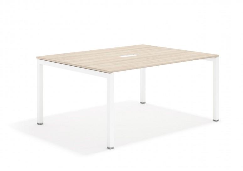 Kubika mesa de juntas 126 blanco