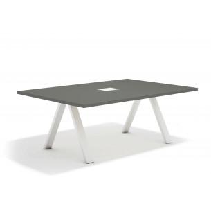 Uve mesa de juntas blanco