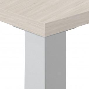 Quadra mesa de trabajo blanco