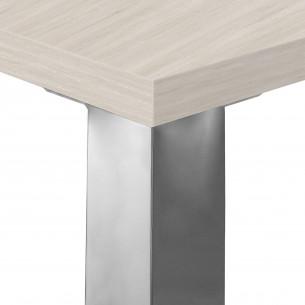 Quadra mesa de trabajo cromo
