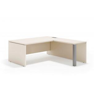 Manager mesa con ala aluminio
