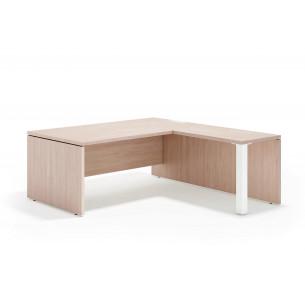 Manager mesa con ala blanco