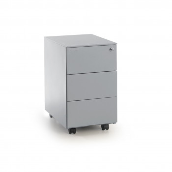 Steelbox - Cajonera de oficina steelbox mini aluminio - Imagen 1