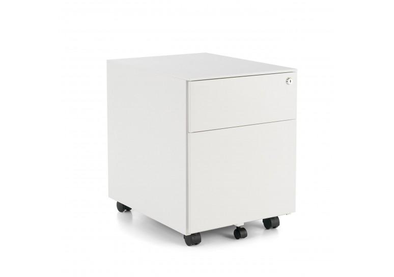 Buc steelbox cajon/archivo blanco