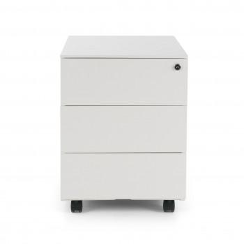 Steelbox - Cajonera de oficina steelbox 3 cajones blanco - Imagen 2