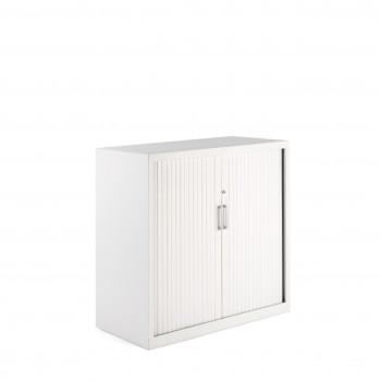 Armario K2 - Armario de persiana K2, medida 105x100 blanco - Imagen 1